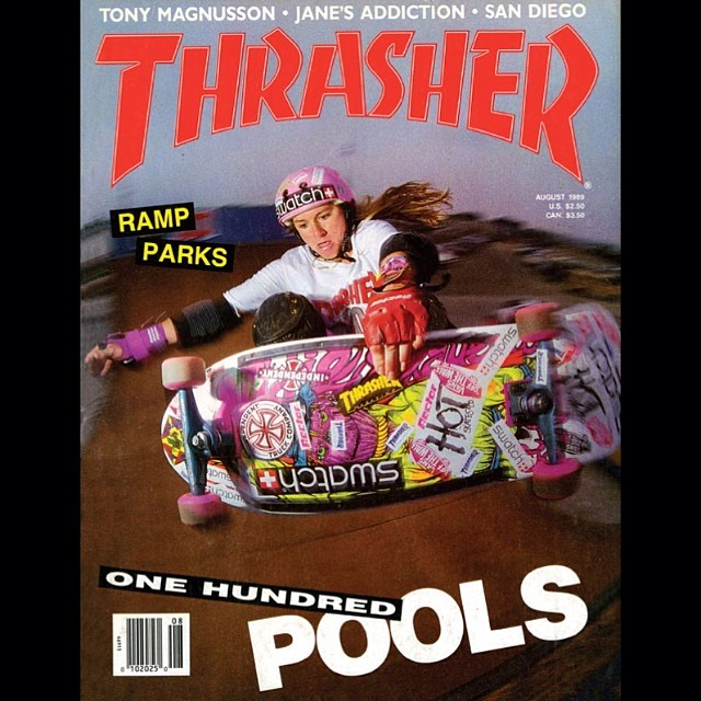 Just realized it will be 25 years this August since @thrashermag ran this cover with @cbburnside. How about a female cover shot for the anniversary?