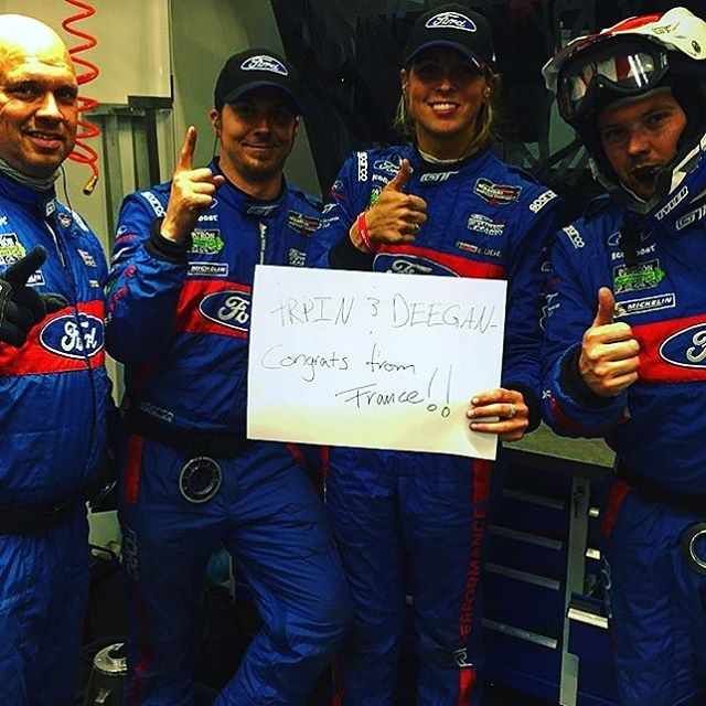 Good luck to the @chipganassiracing team over at 24 hours of #LeMans France. Let's get a win. @fordperformance