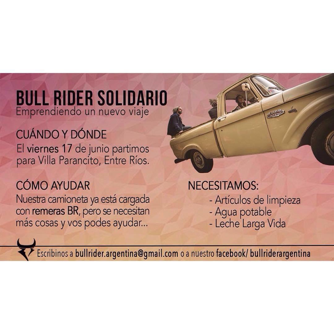 ¡Emprendemos un nuevo viaje! El próximo viernes nos vamos para Villa Paranacito, una ciudad muy afectada por las inundaciones que tiene más de 500 pobladores inundados pero no evacuados. La camioneta BR va cargada de donaciones tanto nuestras como las...