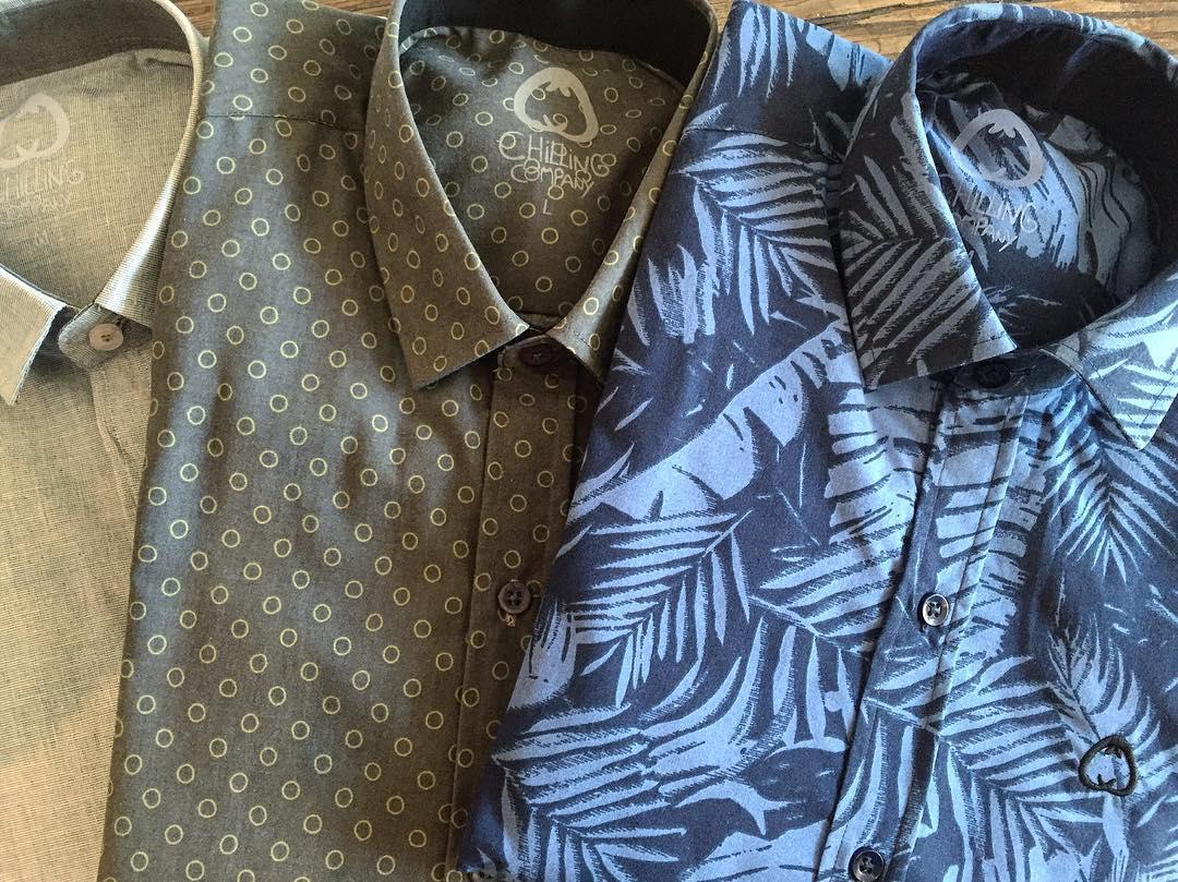 Nuevas camisas en los locales. La semana que viene online a todo el país.  #chillingcompany