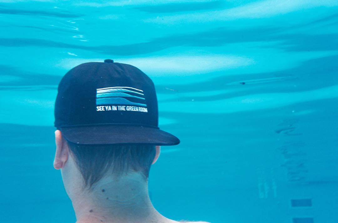 No filter necessary when taking The Great Outdoors cap for a dip.