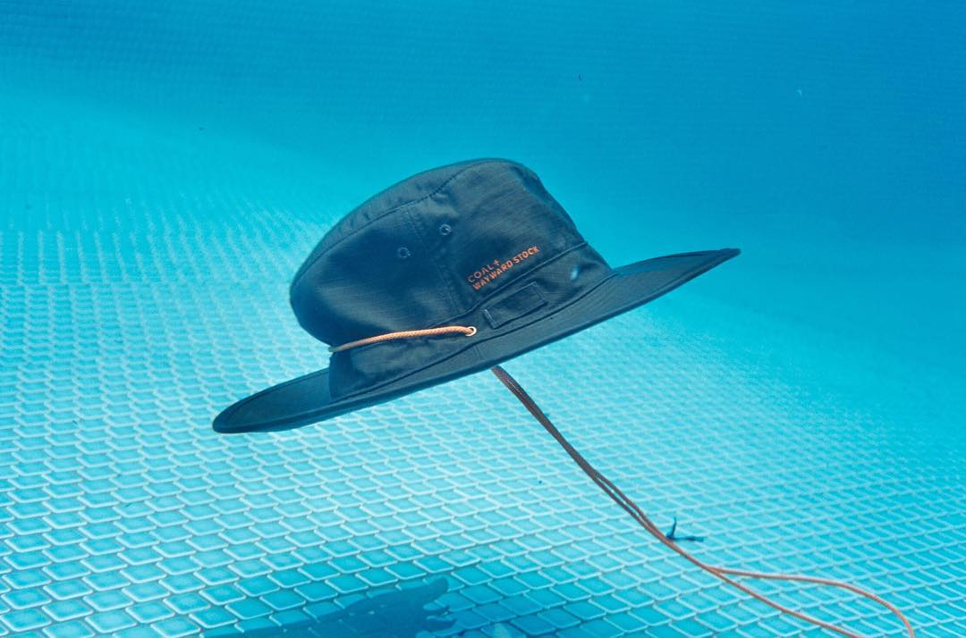 The Traveler SE looks great underwater. We're here for all your summer hat needs.