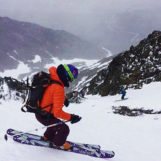 @tahomajillian is not only a bad ass skier and adventurer (here she is shredding In Argentina), she's an awesome teacher! School is officially out for the summer...good luck keeping up with her this summer