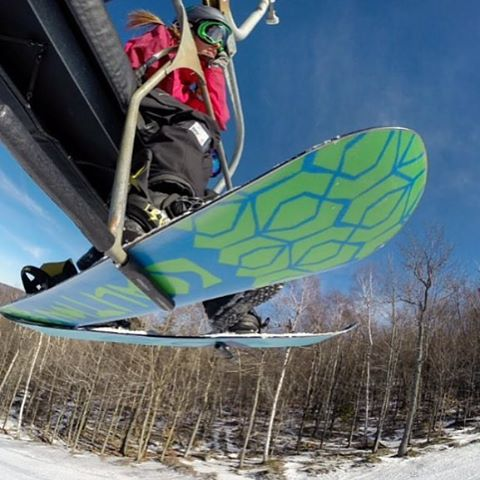 #tbt to bluebird business meetings on the chairlift.