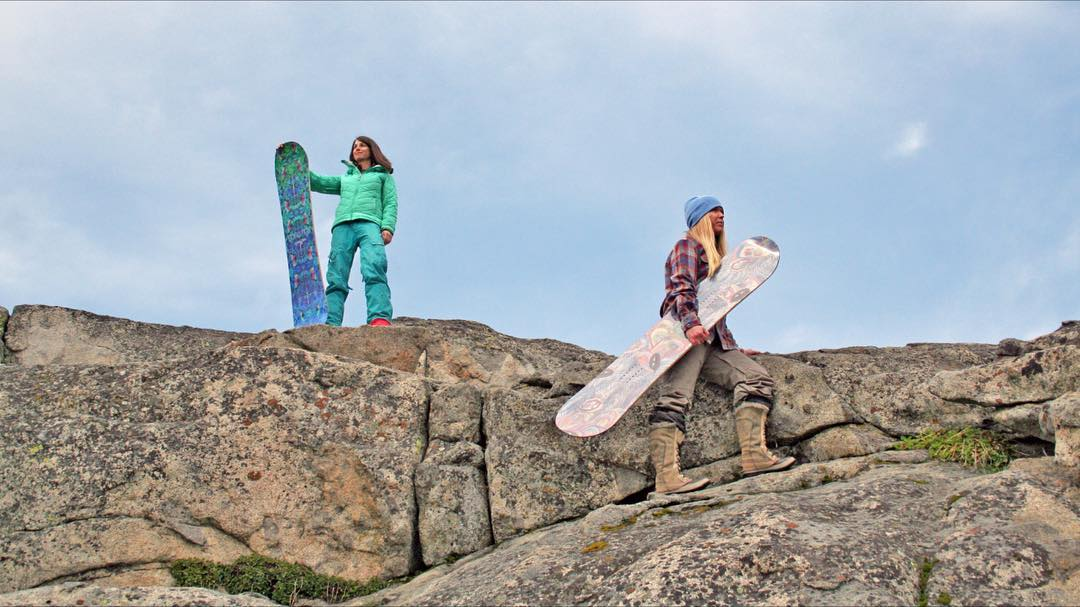 Summer is here and so is new gear! Our newest graphics and models are in!  #sisterhoodofshred #chooseadventure #snowboards #granite #women #strong #donner