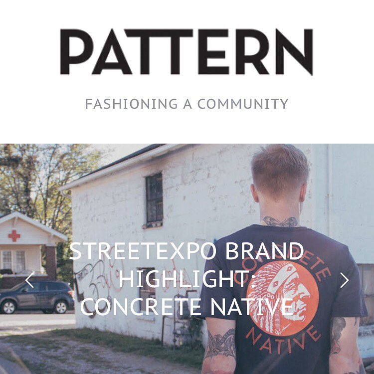 Hey! There's a great interview with us that just posted on the @patternmagazine website in preparation for StreetExpo! We discuss the inspiration behind the brand, our views on entrepreneurship, and even our views on celebrity endorsed streetwear....