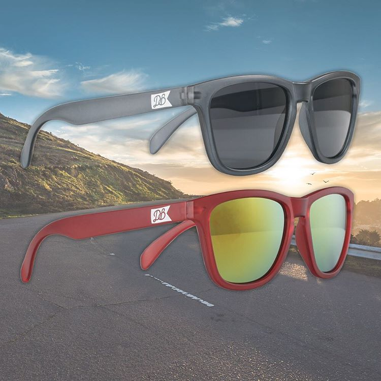 We just added some new sunglasses for summer to the website that are free with all orders over $150! Snag a set for your next skate sesh! #dblongboards #db #dashboards #longboard #goskate #summerishere