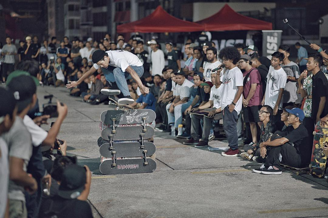 The #DCGlobalSkateJam going off in Kuala Lumpur, Malaysia! Photo: @ayeaxe #DCShoes