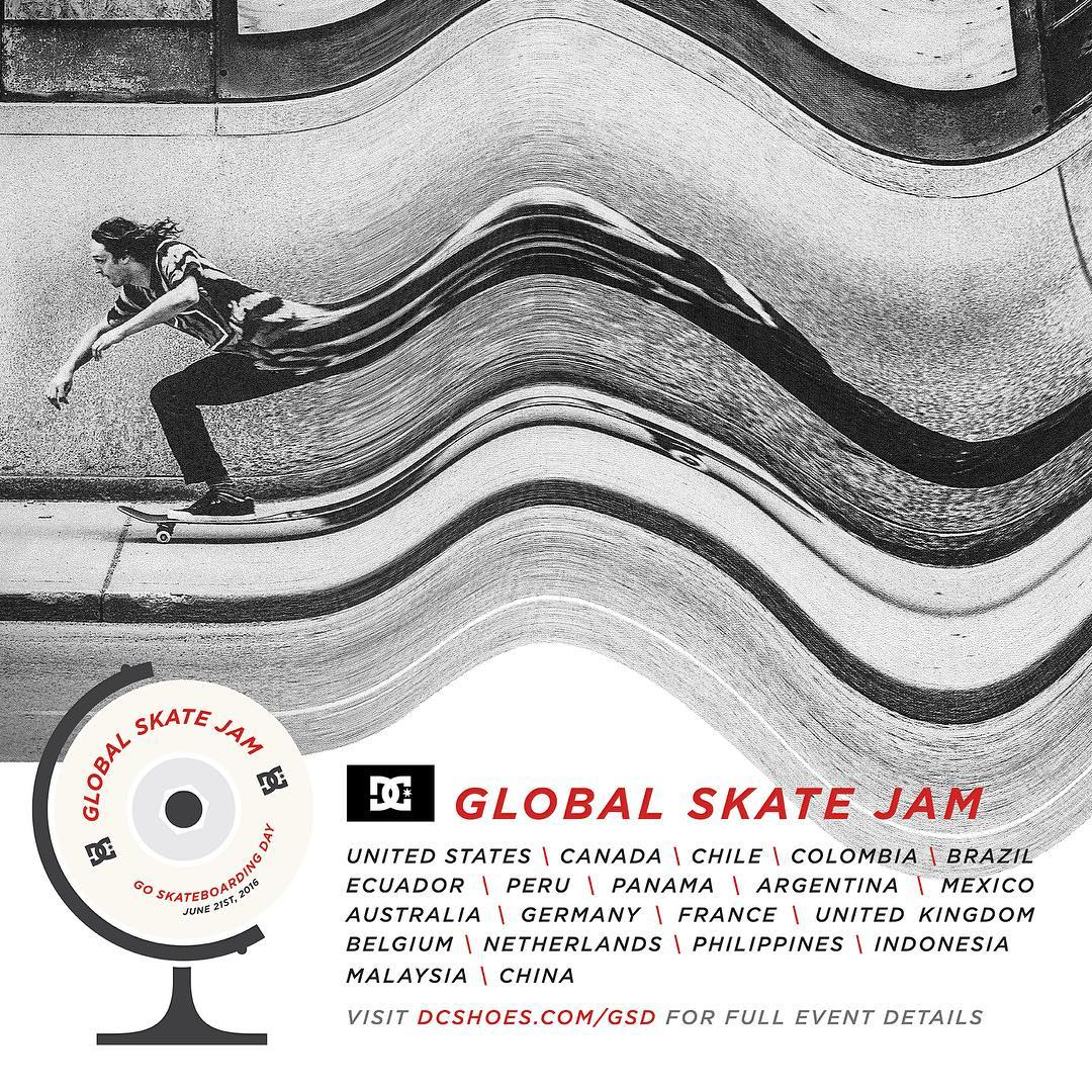 Go Skateboarding Day is tomorrow! Find a #DCGlobalSkateJam event near you at the link in our bio. #DCShoes