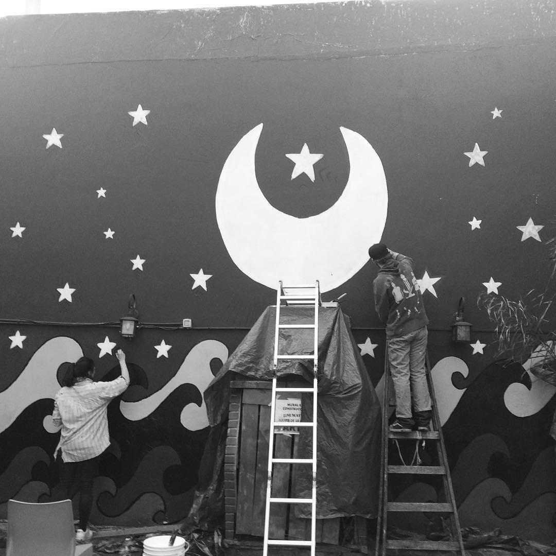 Construyendo la inmensidad #darte #mural #sreetart cc @leik_eze @by_jo