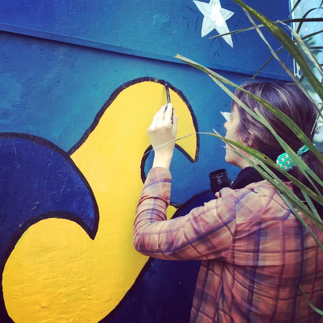 Oleando, floweando! #darte #mural #sreetart