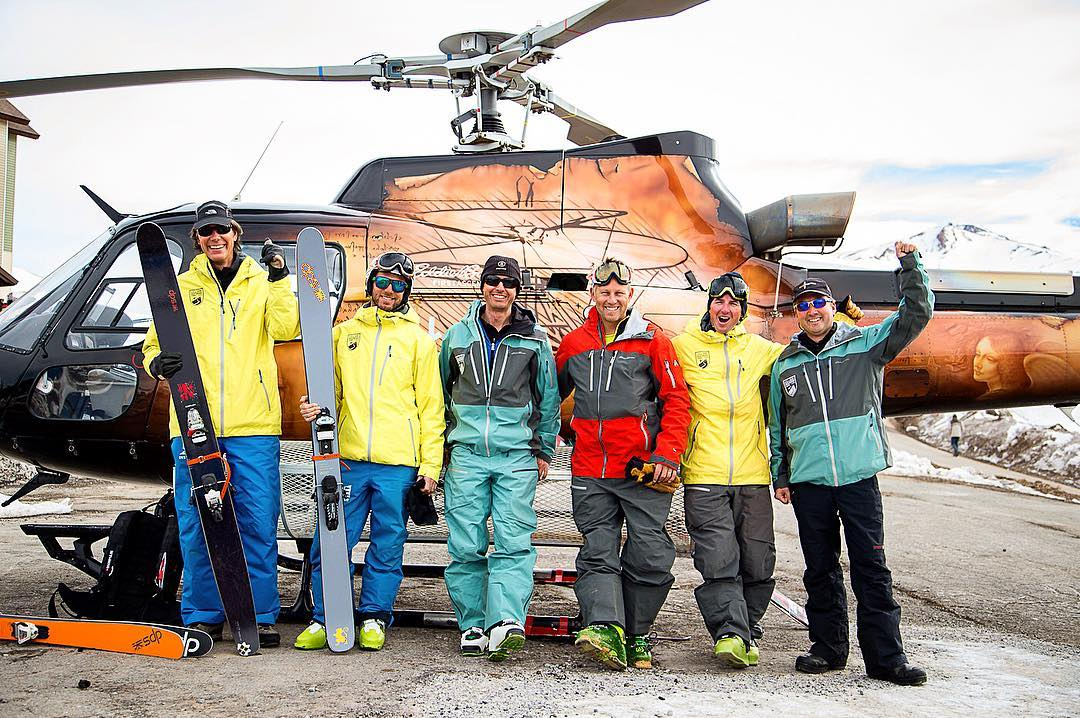 Good times with the crew of @vnheliski. And spotted: a vintage black pair of Lotus 138's still in service many years later