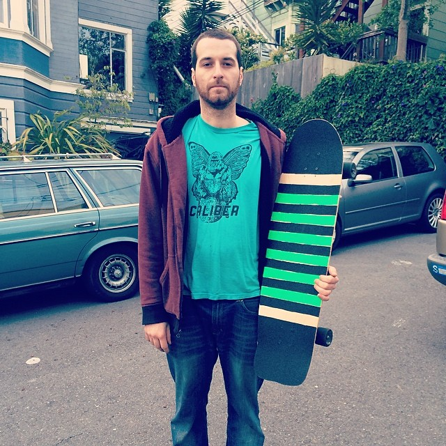 Dead Fred with a brand new Super Fatty and new grip.  #deadfred #superfatty #bonzing #sanfrancisco #shapers #artists