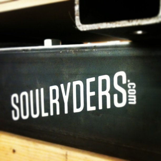 Nice sticker addition to a press @soulryders