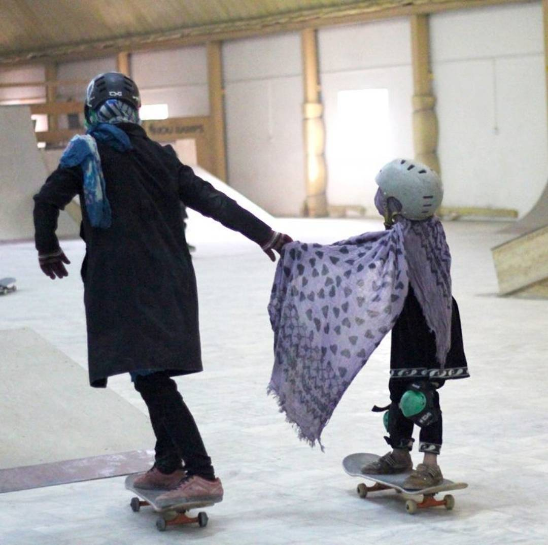 """If one is lucky, a solitary fantasy can totally transform one million realities."" — Maya Angelou.  Picture/Repost from @skateistan"