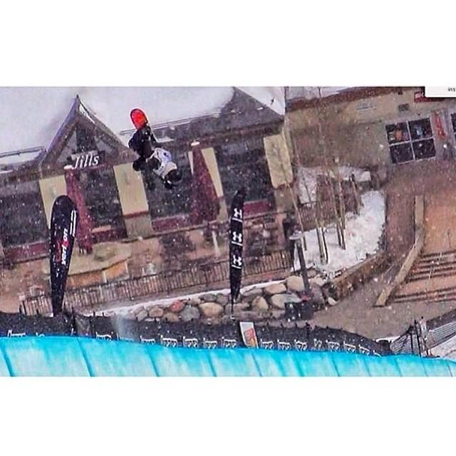 Team rider from #colorado @coltonbalentine❄️#snowboarding #frostyheadwear