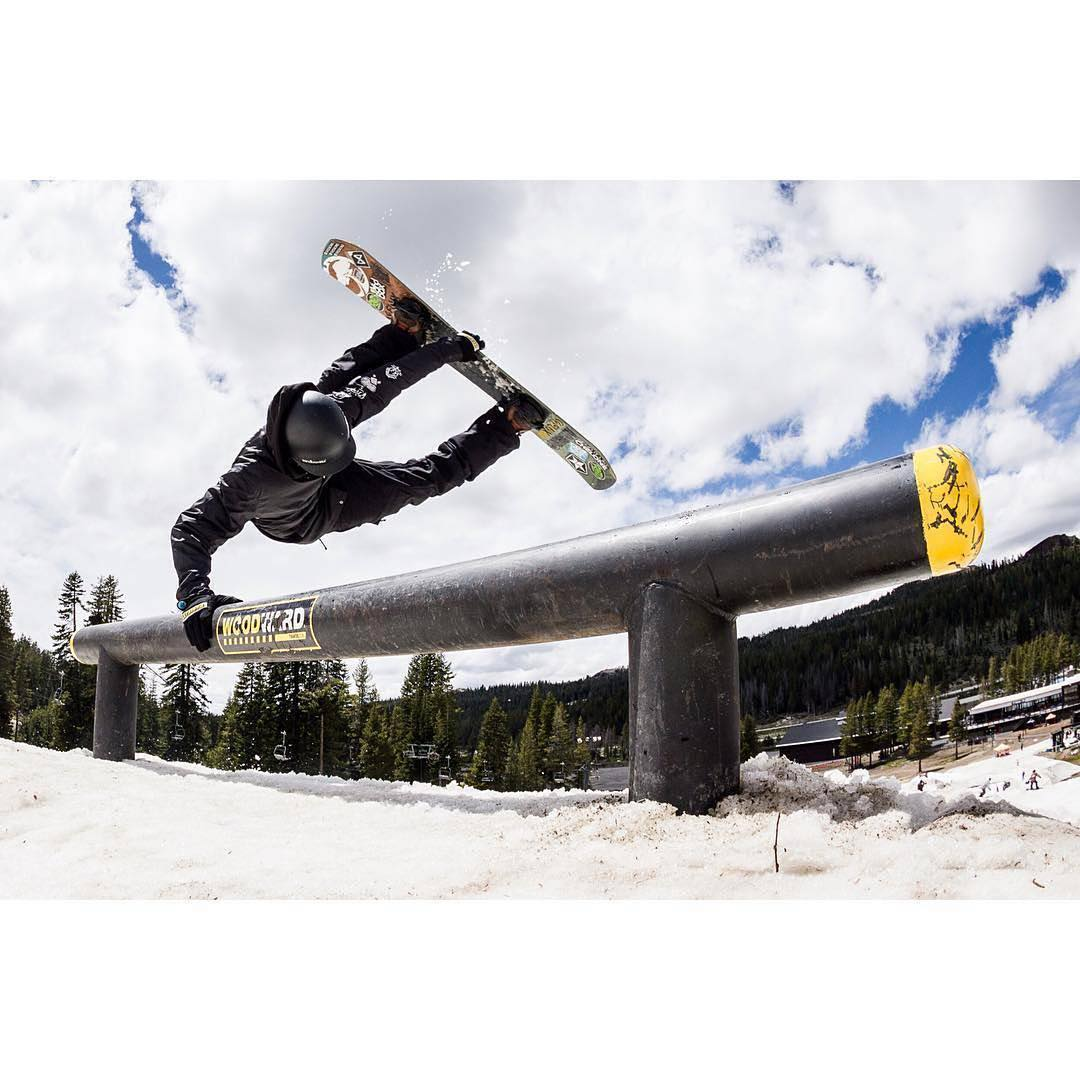 #Repost @scottyvine ・・・ Small miller flip last week at @WoodwardTahoe during the first session of summer. Good friends, good park, great times!