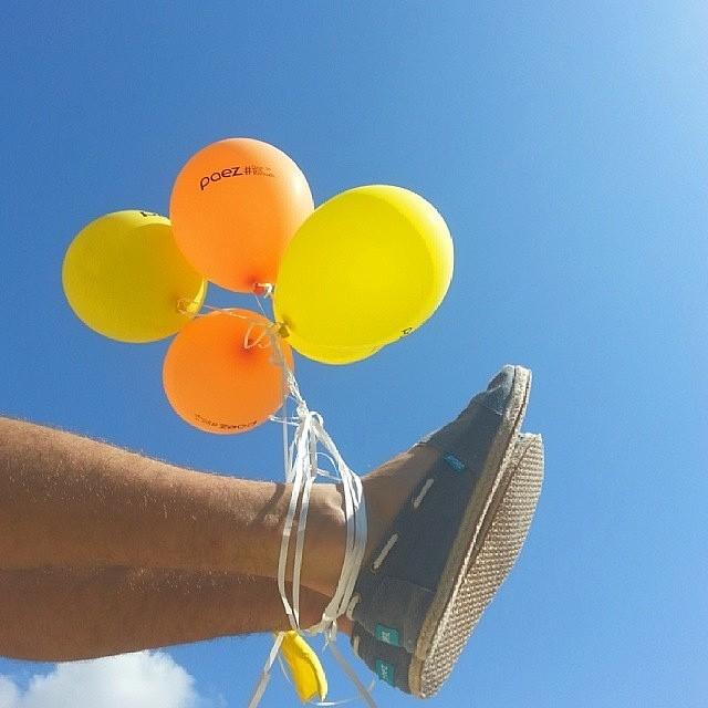 The best dreams happen when you're awake.  #Paez #PaezShoes #Balloons #WednesdayWisdom Regram: @pyuval_elias