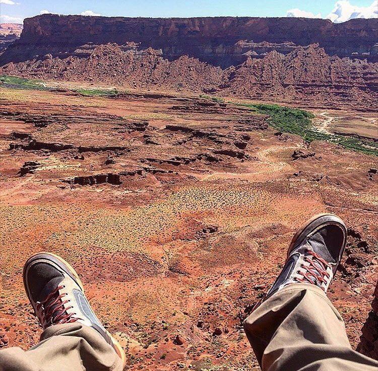 The view from above - Moab edition, with @andrew_white89