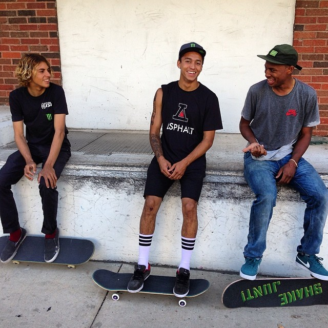 Counting down to #XGamesAustin with @currencaples @nyjah_huston @ishodwair