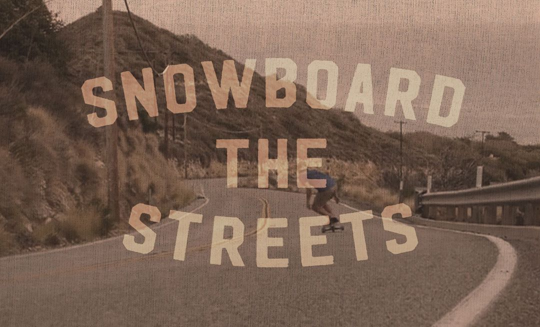 No better time than summer to hit the slopes! #Freebord #SnowboardTheStreets