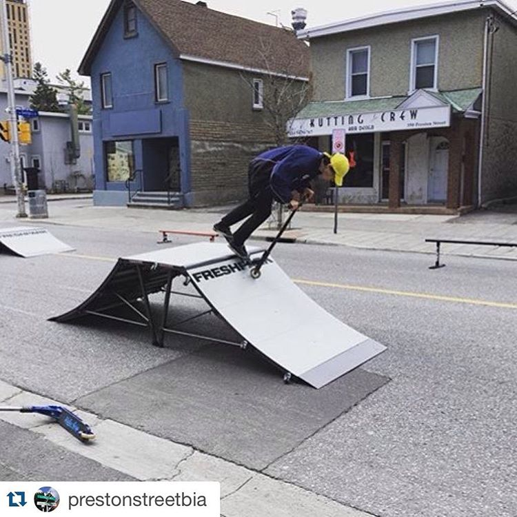 #Repost @prestonstreetbia Thank you @airborneactionsports! Those ramps @freshpark were awesome! #cyclofest #ottawa #ottcity #ottbike #prestonstreetbia #littleitaly613 #littleitalyottawa #airborneactionsports #freshparkramps