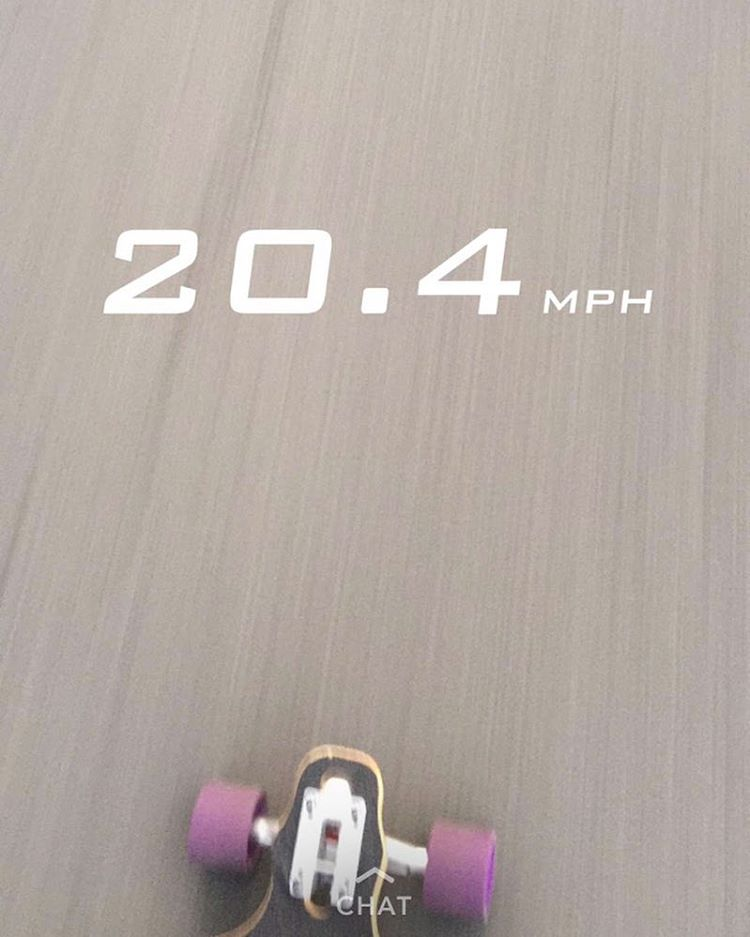 Getting #buck #wild in them #streets on the #Hazel #longboard #skate #board #canadian #maple #downhill #skatelife #snapchat #sk8 #concrete #picoftheday