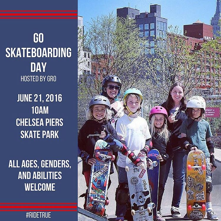 Come hang with us Tuesday morning for #goskateboardingday