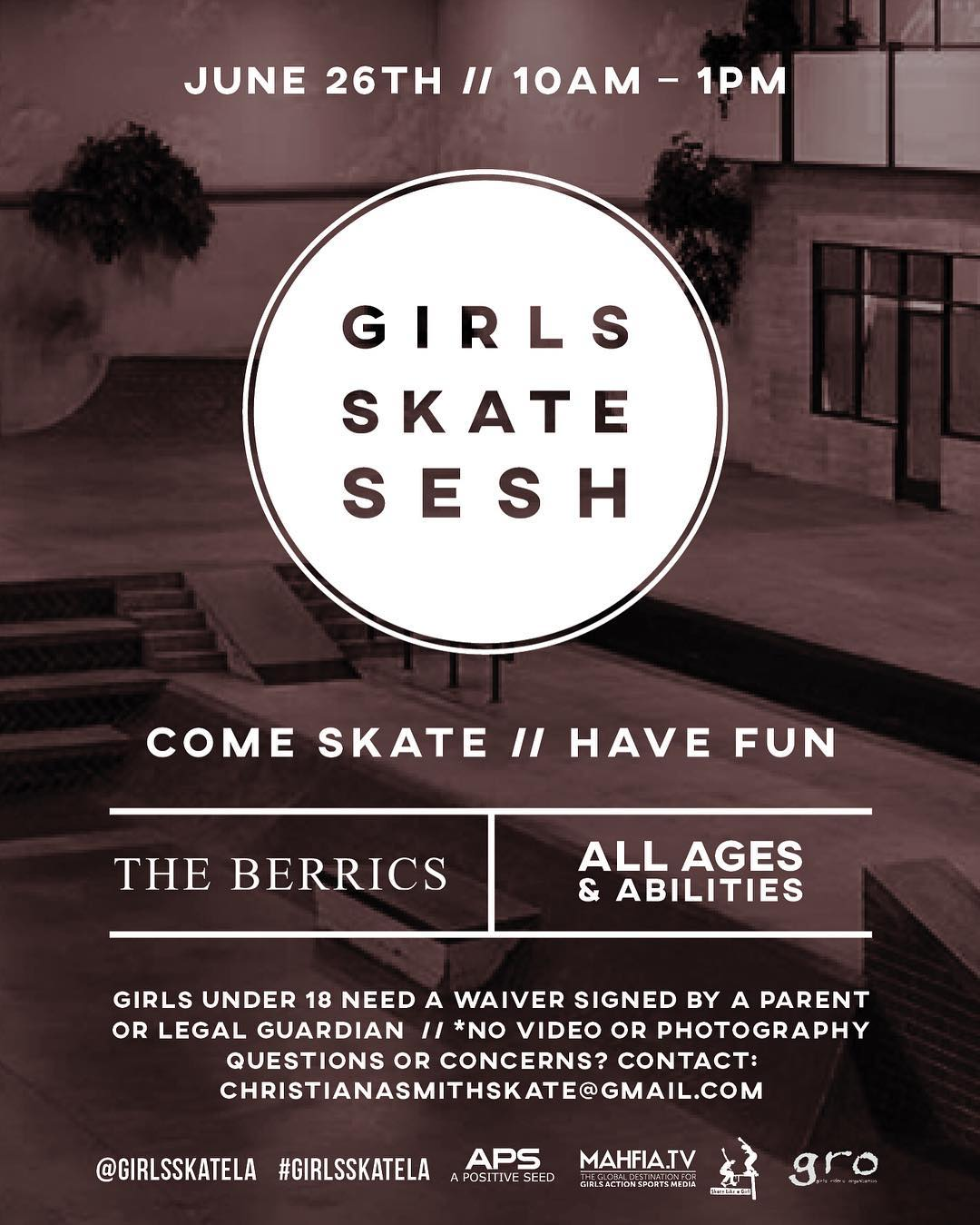 Calling all #girlswhoskate in the greater Los Angeles area and beyond!!!
