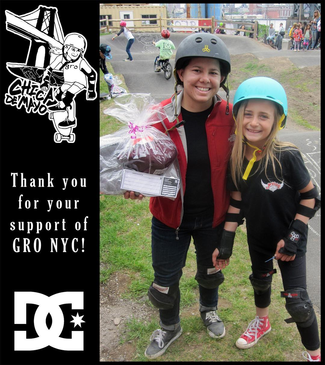 Thank you @dcshoes for supporting #chicademayo