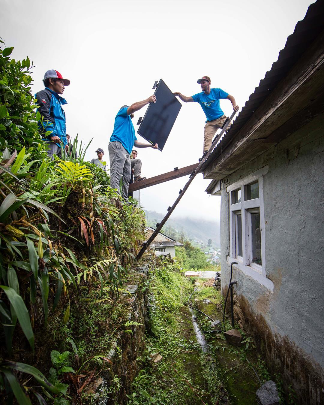 The grid here in KaraKhola, Nepal isn't always dependable. Installing solar panels and lights at the rural medical clinic will create a safer environment for those being treated here. If the power goes out in the middle of childbirth or a standard...