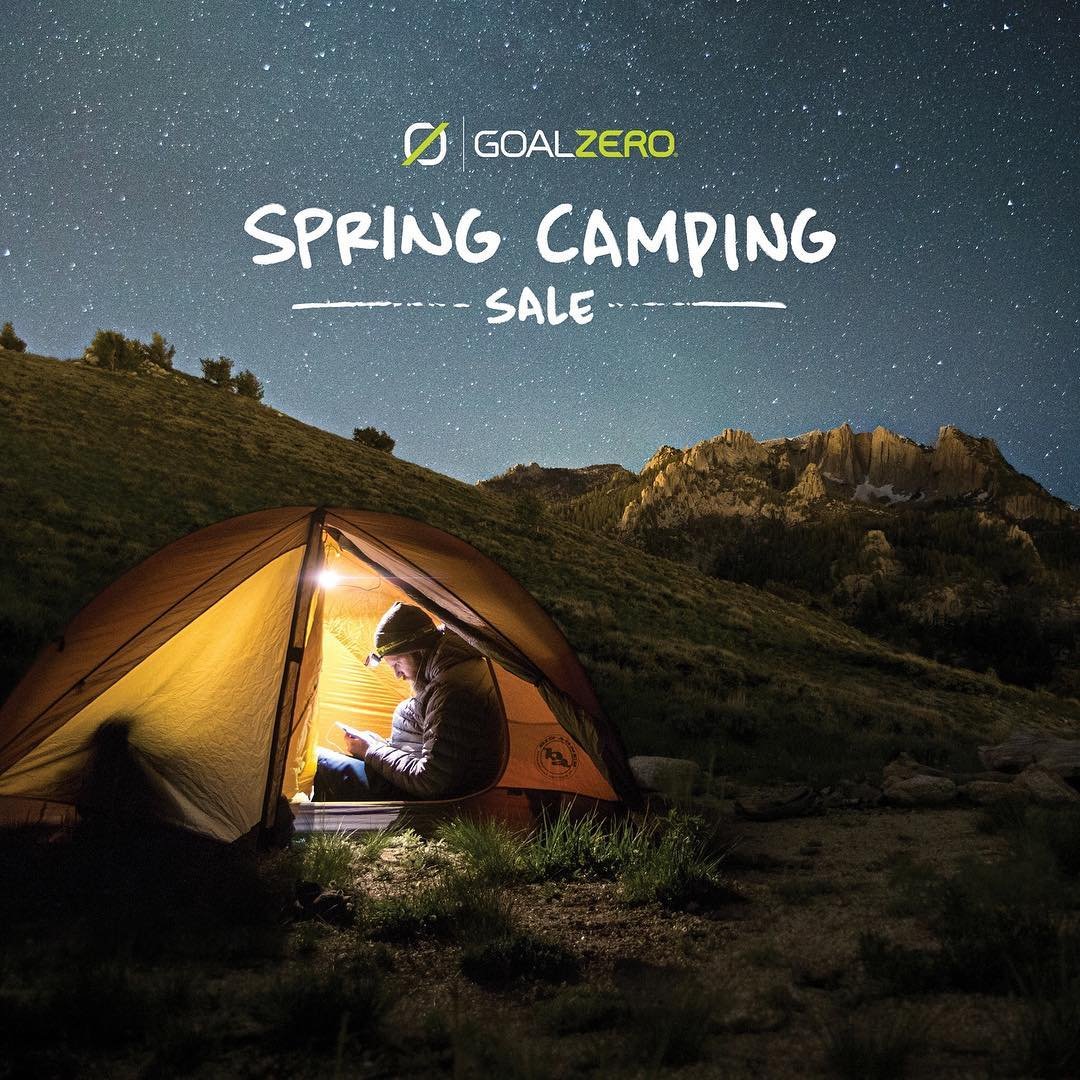 Free shipping this weekend only for our Spring Camping Sale! Follow the link in our profile to learn more. Sale ends Tuesday.