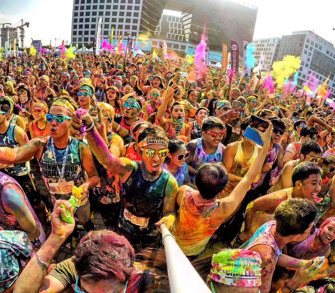 Color Manila Run in the Philippines. Shot with GoPro HERO4 and GoPole Reach. Photo: @zion.adventure #gopro #gopole #gopolereach #philippines