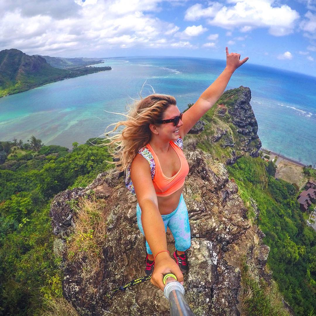 """Everyday is a new adventure,"" says @morgnmks. GoPro HERO4 
