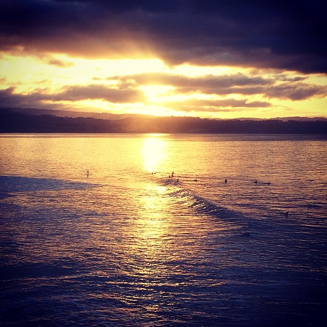 golden hour #awesome #awesomesurfboards #teamawesome #surf #morningglory
