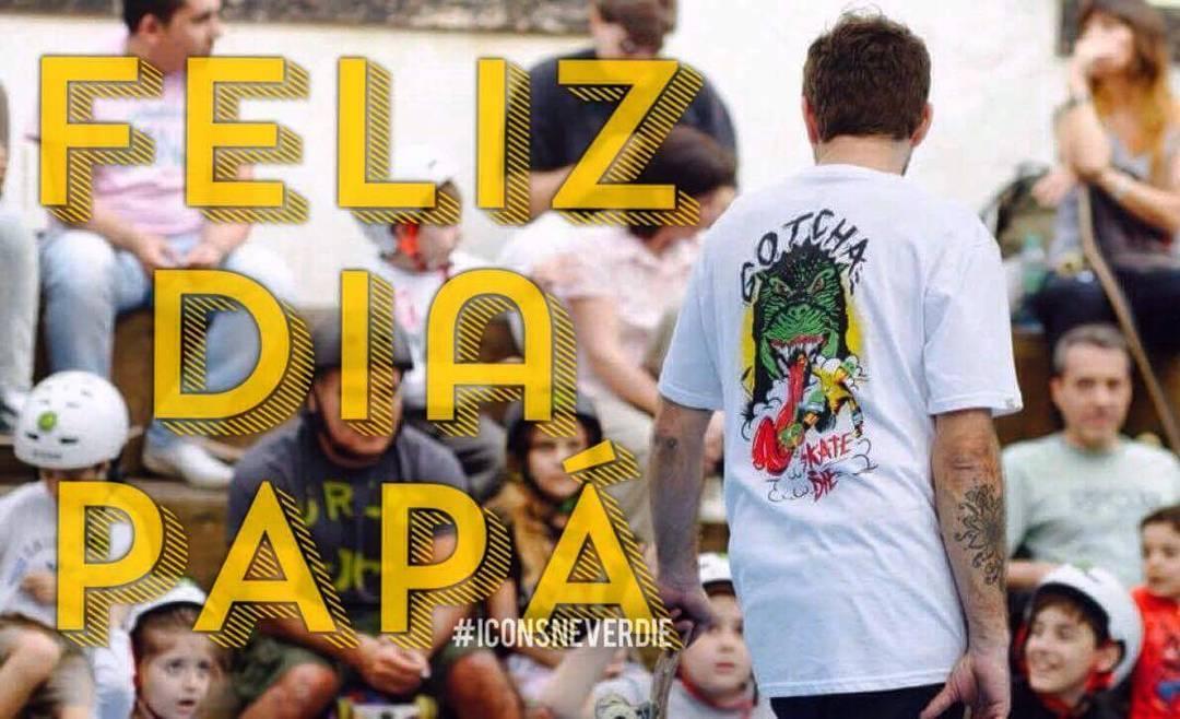 Feliz dia a tu primer mejor amigo. #felizdiapa #iconsneverdie
