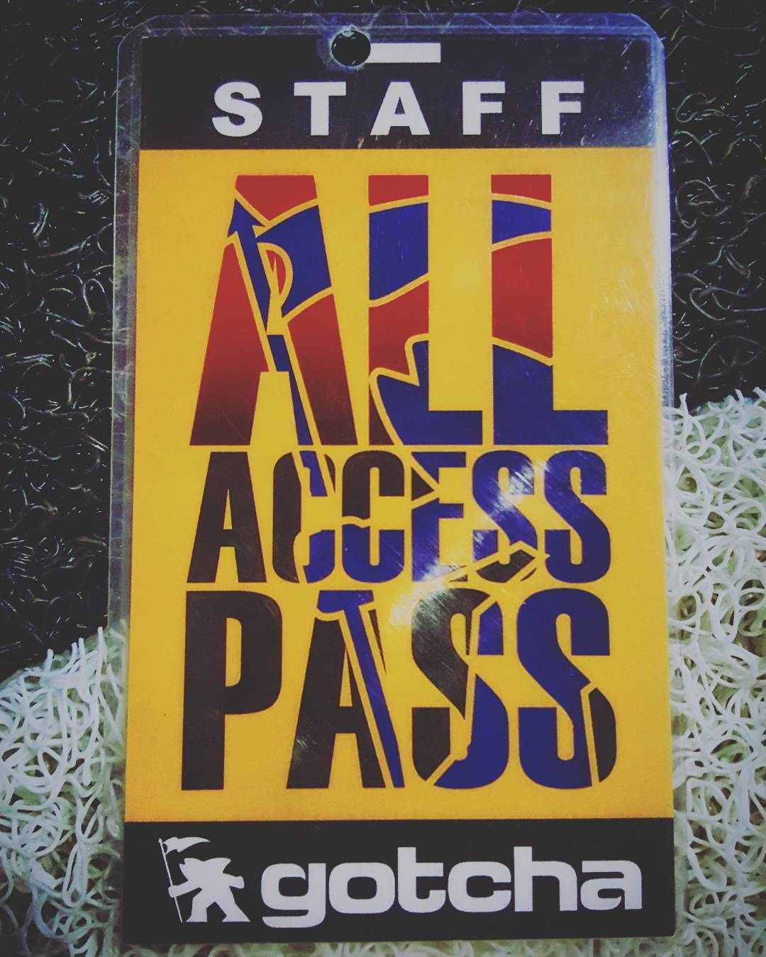 ALL ACCESS gotcha #backstagepasses  #iconsneverdie