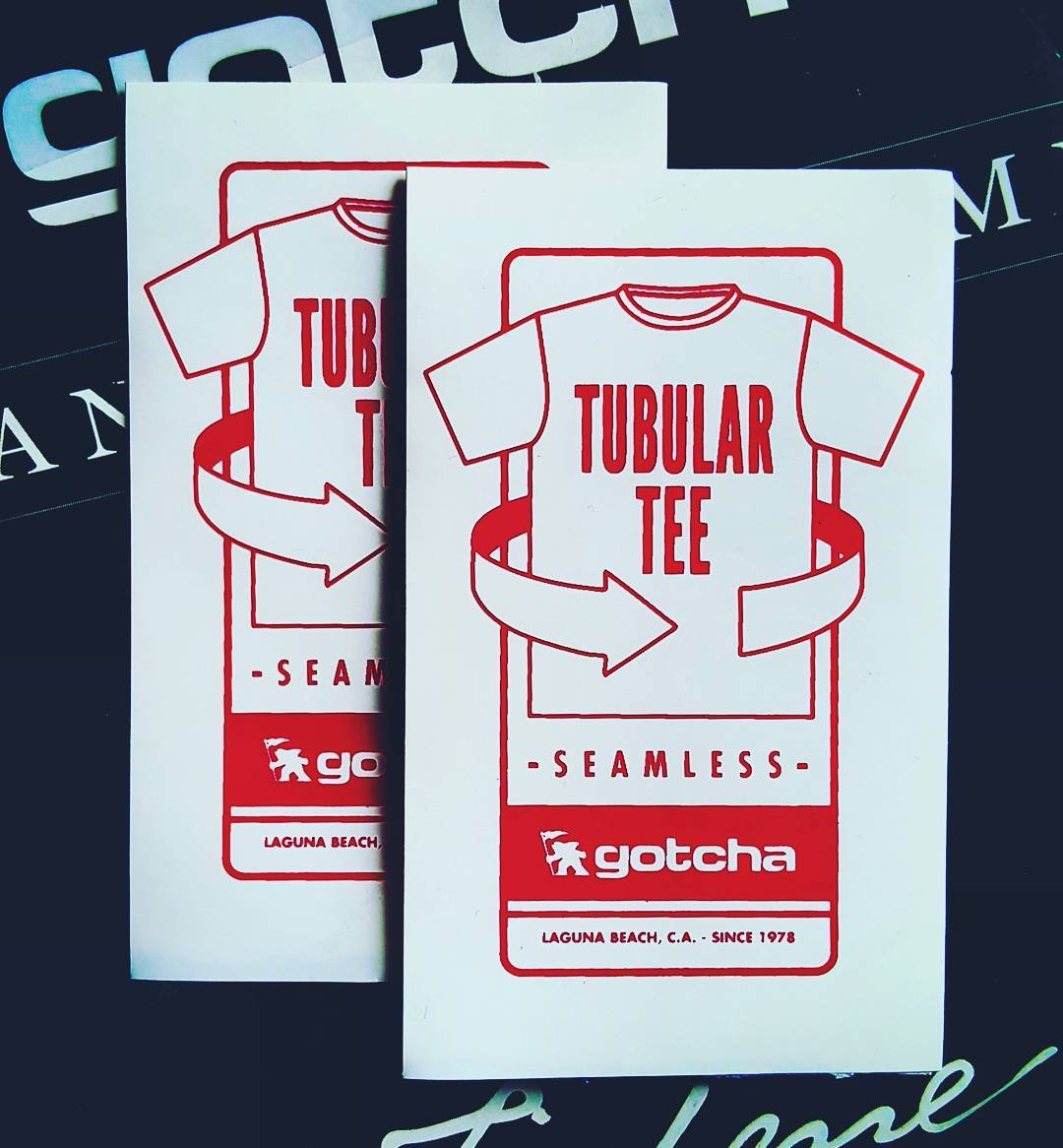 Tubular Tees Gotcha #seamless fit  #gotcha #iconsneverdie