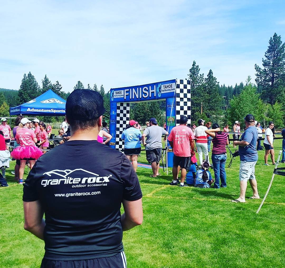 Fun times at the Truckee Running Festival! #getoutside #getfit #trailrunning #truckee #xplorewild #graniterocx #outdoorsrocx
