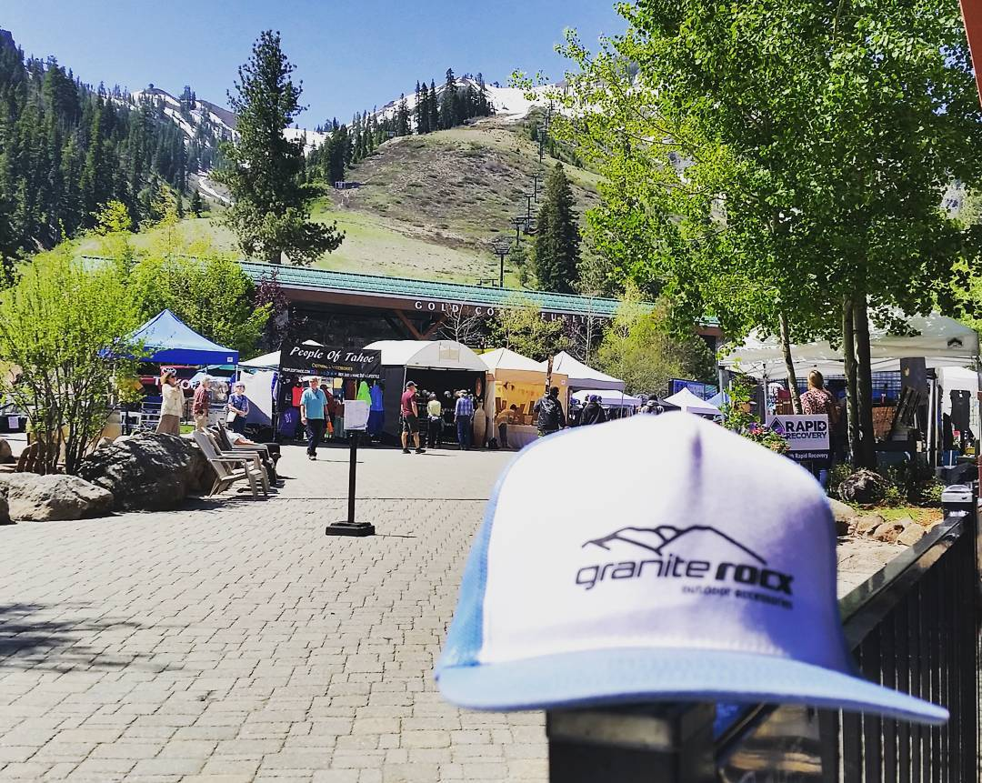 Another beautiful day @squawalpine for the Made in Tahoe Festival! #getoutside #laketahoe #xplorewild #backpacks #coolers #graniterocx #outdoorsrocx