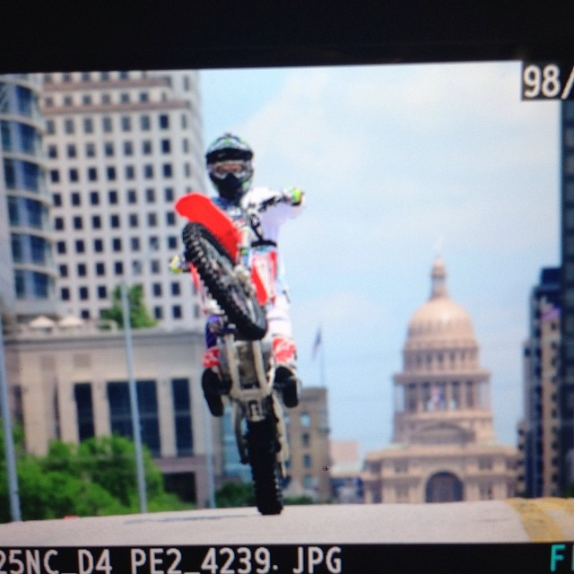 Taking in the views of Austin with @nateadams741 #xgamesaustin