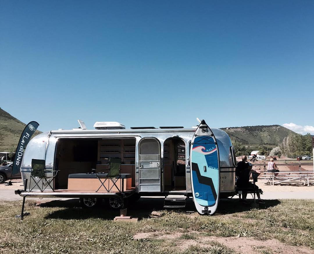 @zealoptics will be traveling around in their sweet Airstream with their #halagear boards for all their water #adventures! Check them out while they are on the road this #summer!!