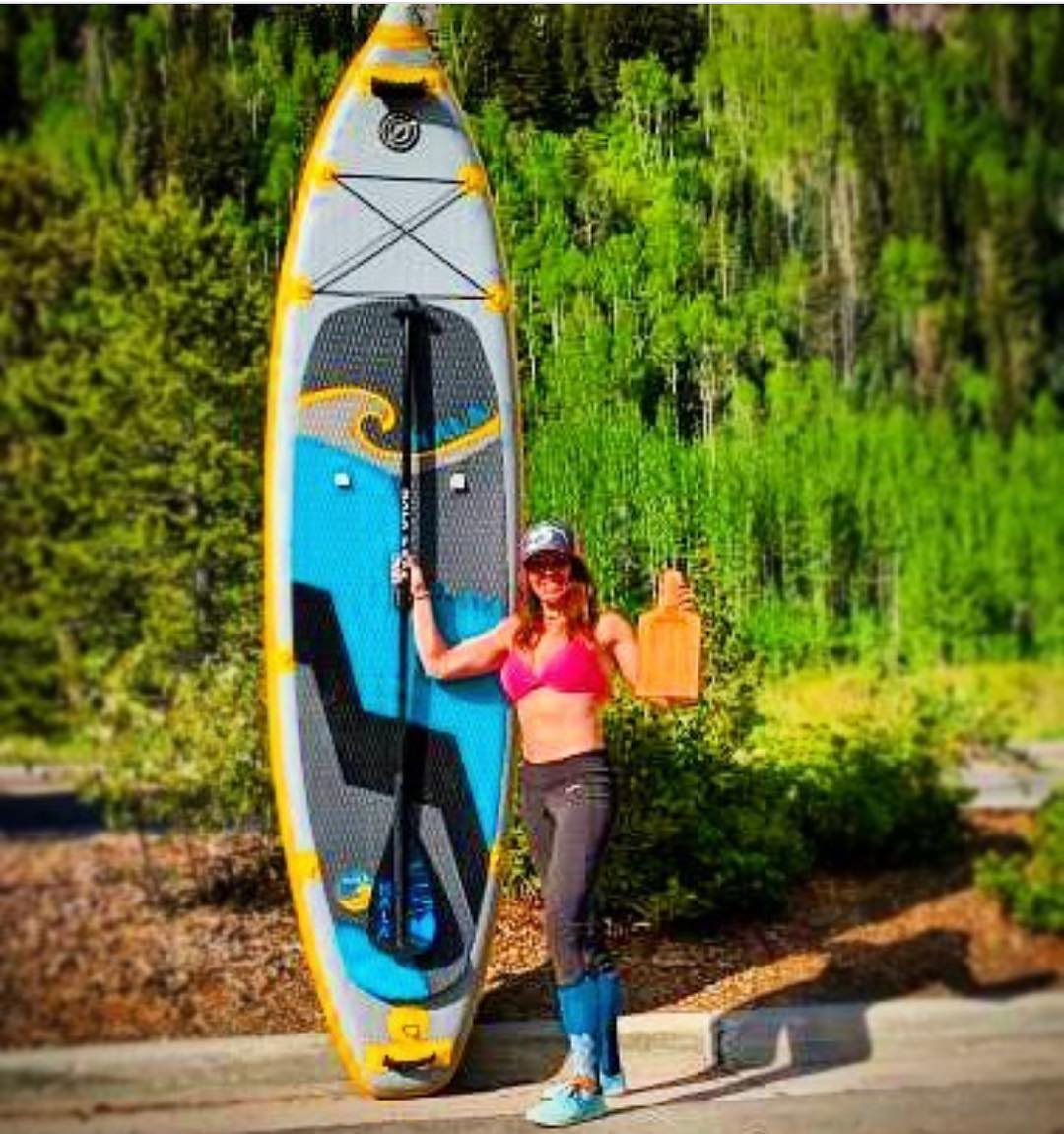 Congrats to Hala Athlete @trinwa on winning the Vail Whitewater Series!  #halagear #adventuredesigned #paddlewithfriends #isup #inflatable #standuppaddle #paddleboarding #suplifestyle #adventurers #sup #supthemag #repostmysup #stand_up_paddle #paddle...