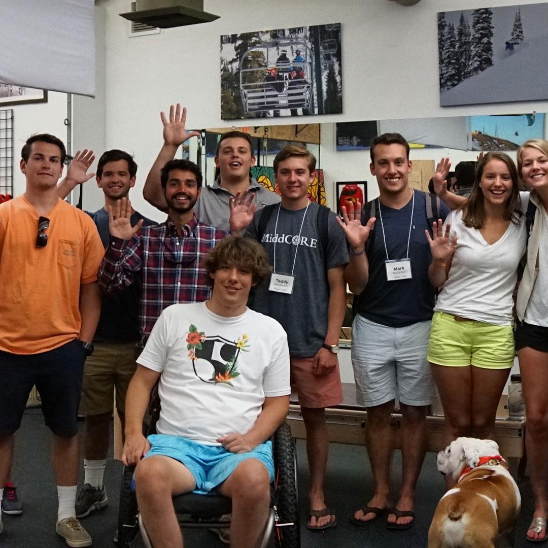 High Fives would like to applaud @middcore, @middleburycollege's leadership and innovation program, for taking on 2 High Fives challenges! #highfivesathlete
