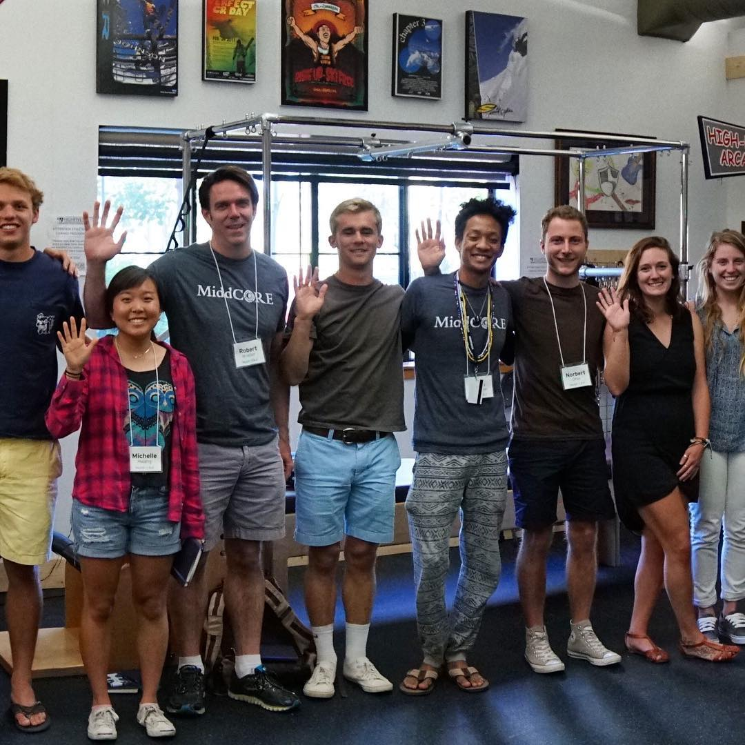@middcore is a 4-week summer program held at @sierranevadacollege designed to help current and recent college students develop the skills, confidence and experience to be successful in life and work. High Five for visiting the @crj_healingctr