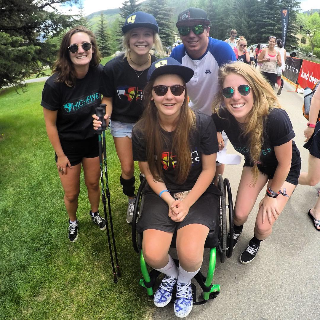 Being able to hang out with our incredible #highfivesathletes at #GoPromtngames...#perksofthejob