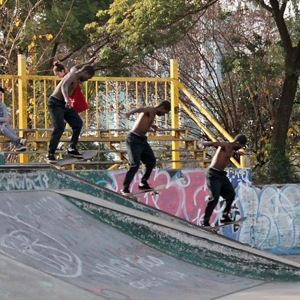 "Parque Centenario, ""Ajah"" luciéndose, genio!"