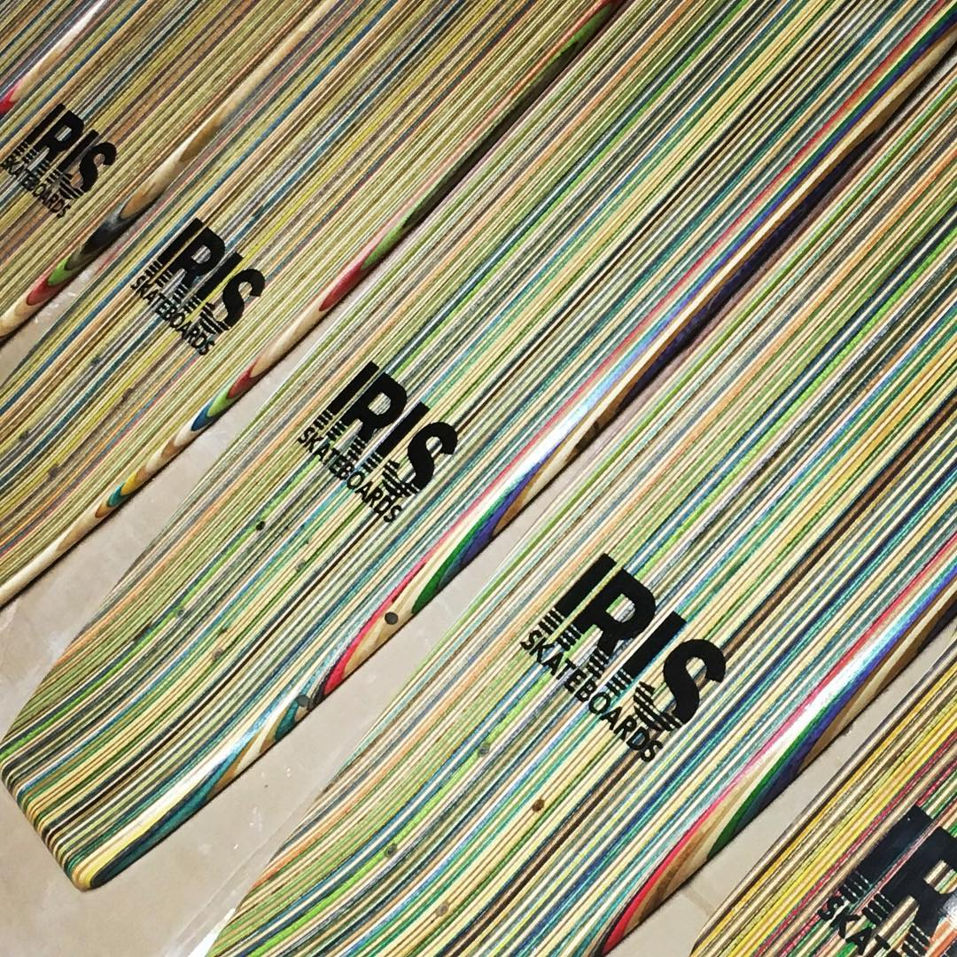 Another batch of Iris recycled skateboards ready for action! #recycledskateboards #irisskateboards #shoplifealldayeveryday