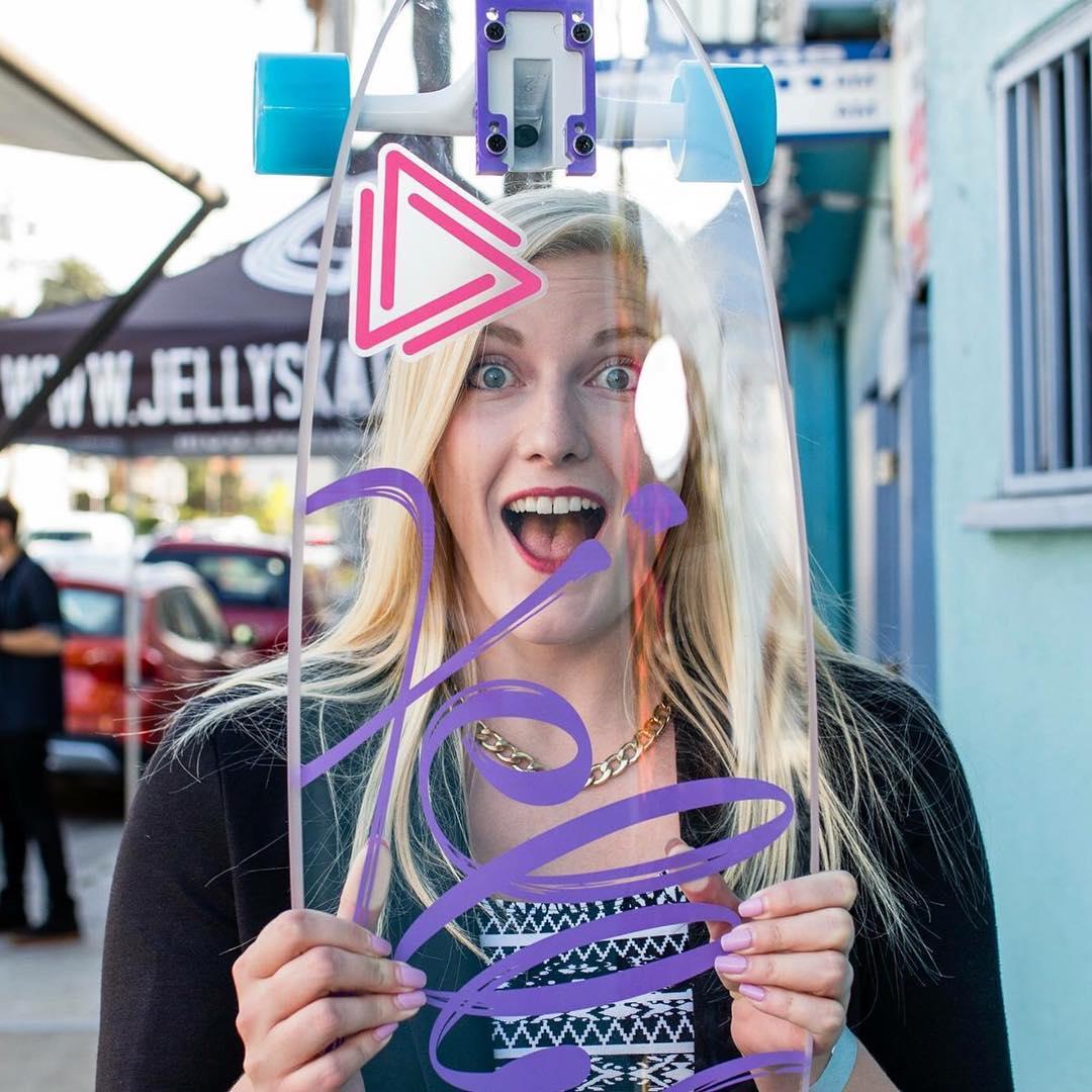 Jelly? #jellyskateboards #jellymanowar #playadelrey #longboard #skateboards #adparlor