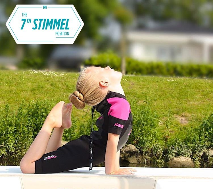 Ladies and gentleman: we've got it. The 7th Stimmel position is finally found – check out the winning pose and watch for it in the official Stimmel action video!  Congratulations to @annemiekebreemer!